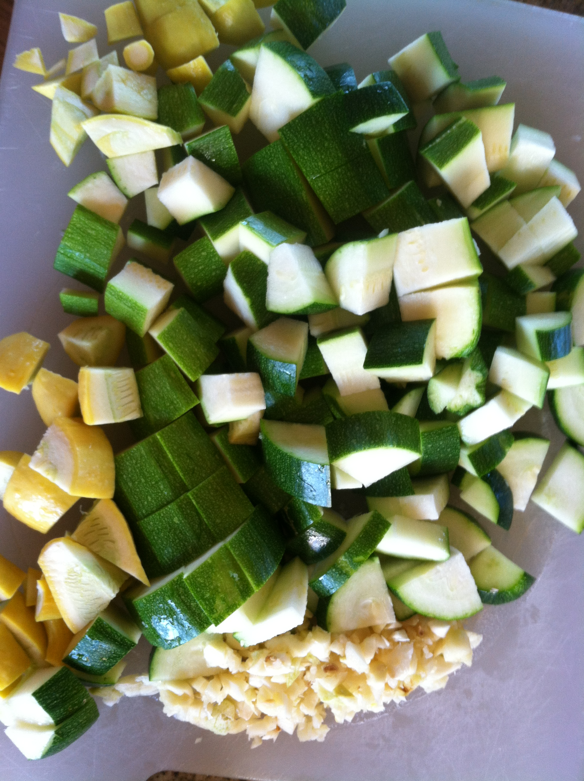 how to add zucchini to soup
